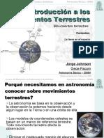 Astronomia 1 MovTierra
