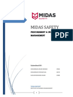 Midas Safety Term Report - Procurement & Inventory Management