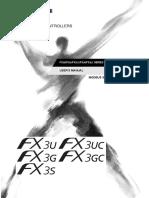 FX3S,FX3G(C),FX3U(C) - User's Manual (Modbus Serial Communication Edition) JY997D26201-G (04.15)