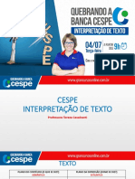 Quebrando a banca Cespe Texto.pdf