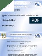 Materiales de Impresión Hidrocoloides