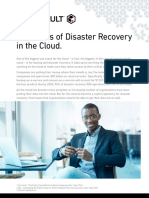 5 Benefits of Disaster Recovery in the Cloud