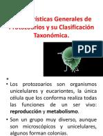 Generalidades de Protozoarios.