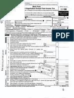 Mid Atlantic Biosolids Association 2016 Form 990EZ