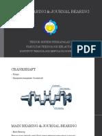 Main Bearing & Journal Bearing