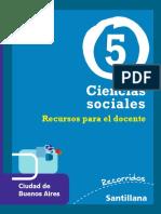 GD Recorridos Cs Sociales 5 CABA