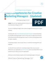 7 Key Competencies for Creative Marketing Managers (Updated)