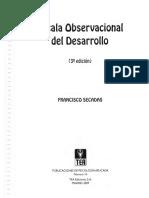 Escala de Desarrollo Observacional EOD