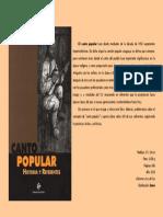 Libro Canto Popular - Historia y Referentes Difusion