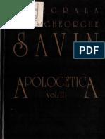 Ioan Gh. Savin - Apologetic A Vol.2