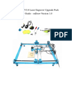 XY Plotter V2.0 Laser Engraver Upgrade Pack User Guide MDraw Version 1.0