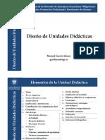 Diseño de Unidades Didácticas