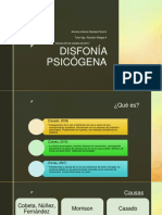 DISFONÍA PSICÓGENA