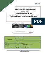 Informe-07 AUTOMATIZACION