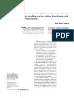 INOJOSA Sinergia Politicas Servicos Publicos