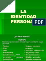 La Identi Dad Personal 2