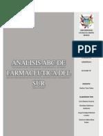 Analisis ABC de Famaceutica Del Sur