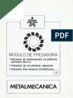 Modulo de Fresadora - Metalmecanica