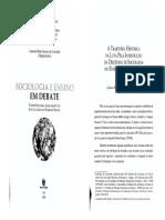 Aula 08 - CARVALHO, L. Trajetoria Histórica Da Luta Pela Introdução Da Sociologia No EM