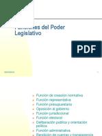 Funciones Del Poder Legislativo