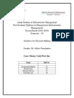 Assignment Money Cash Flow Inc Group 21,23,27,30