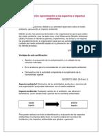 Identificación y Evaluación de Aspectos Ambientales