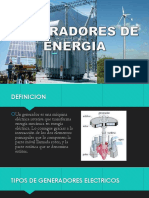Generadores de Energia Elctrica Ppt Listooo