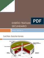 Diseño tratamiento secundario