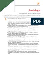 Semiología-bibliografía_1° 2018