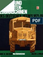 -Die Rad- Und Vollketten-Zugmaschinen_ Des Deutschen Heeres 1871-1945-Motorbuch Verlag