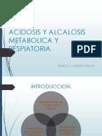 Acidosis y Alcalosis Metabolica y Respiratoria