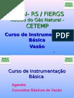 Curso Instrumentação Vazão