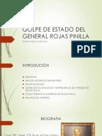 Golpe de Estado General Rojas Pinilla