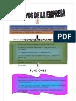 Objetivos de La Empresa Mapa 3