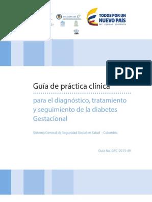 distocia laboral sogc diabetes gestacional
