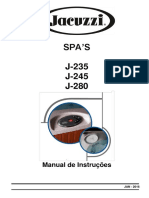 Manual de Instrucoes Spas j235 j 245 e j 280 Jan 2016 Incl. j235 1