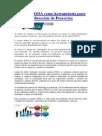 Análisis FODA Como Herramienta Para La Dirección de Proyectos