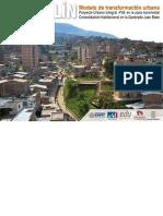 Modelo de Transformación Urbana - Proyecto Urbano Integral
