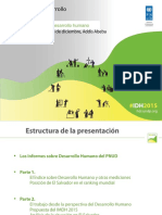 Presentación Informe Mundial sobre Desarrollo Humano 2015 - PNUD El Salvador.pdf