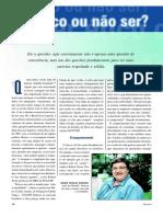 Ser Ético Ou Não Ser - ARTIGO - Prof.clovis de Barros Filho e Outros