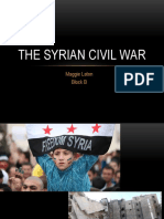 the syria civil war