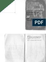 Las Tecinicas Proyectivas y El Proceso Diagnostico.