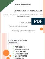 III. Plan de Manejo Ambiental