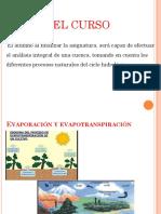 Evaporacion y Transpiración
