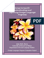 Using surveys for understanding and improving foreign language program.pdf