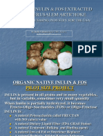 Organic Inulin and FOS from Jerusalem Artichoke Farming Processing Presentation