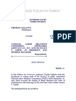 Callanta vs. National Labor Relations Commission, G.R. No. 105083, 20 August 1993, 225 SCRA 526