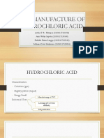THE MANUFACTURE OF CHLORIDE ACID.ppt