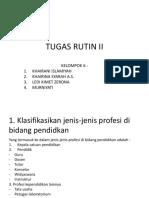Tugas Rutin II