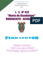 Plan Lector 2018